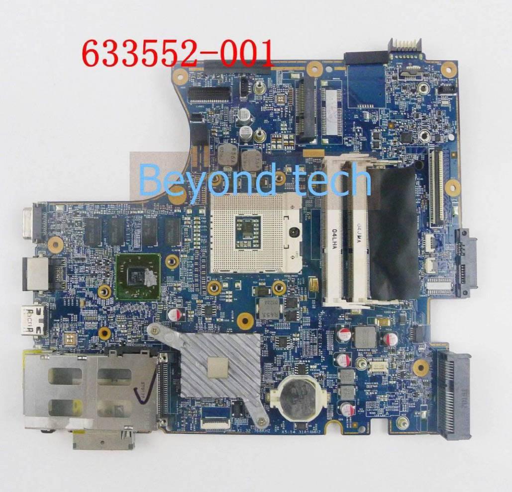 HP 4520s 4720s 633552-001 motherboard