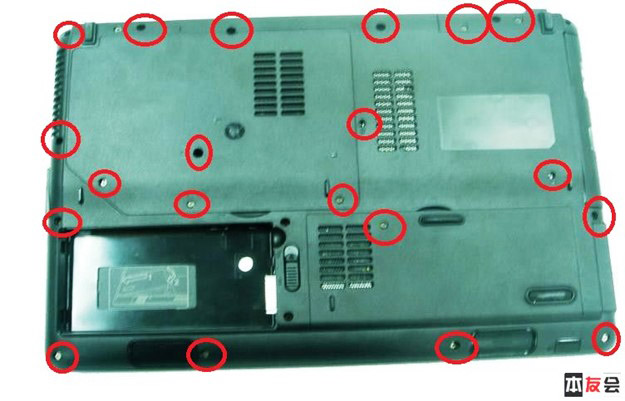 Disassembly Guide for Asus N80/N81 series