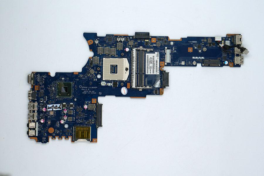 For Toshiba P850 P855 laptop motherboard HD4000 K000135160 QFKAA LA-8392P REV:1.0 100%