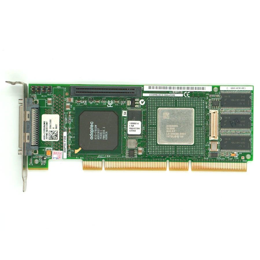 ADAPTEC ASR-2120S/64MB 320MB SCSI RAID card for ADAPTEC