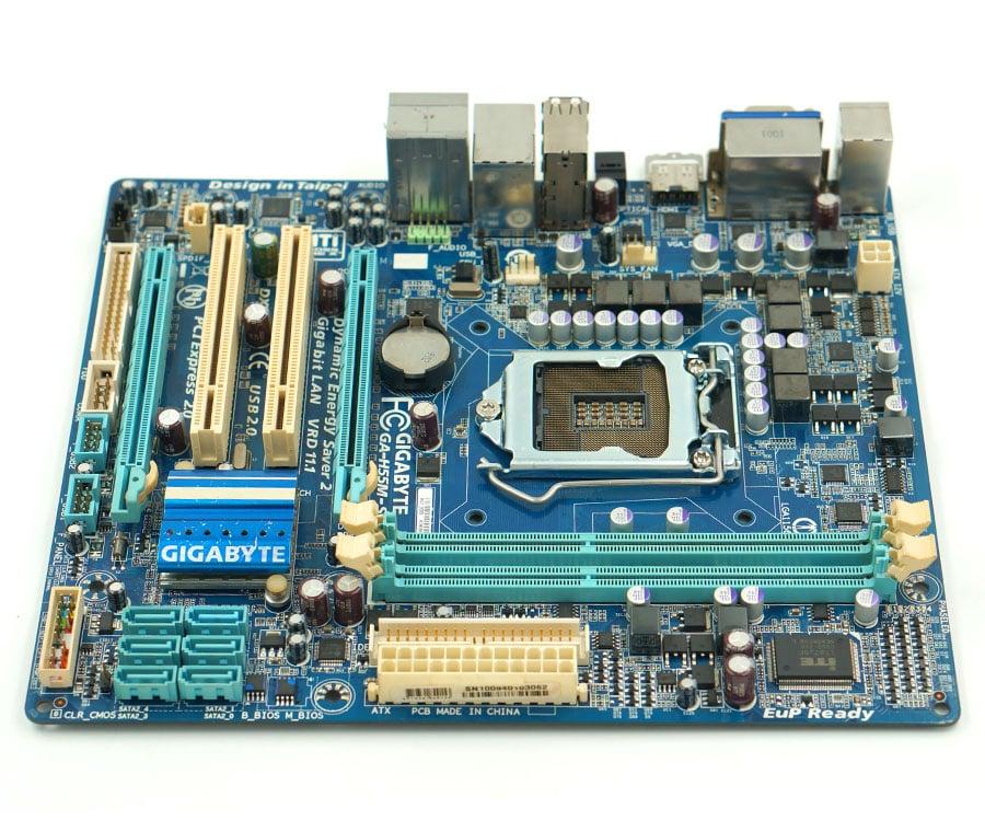 Gigabyte GA-H55M-S2H H55M-S2H motherboard LGA1156 8GB CPU
