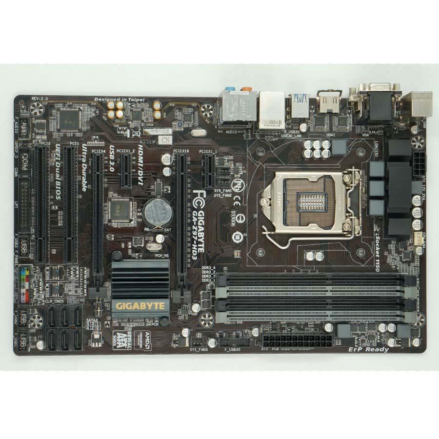 Gigabyte GA-Z97-HD3 Used Desktop Motherboard Z97-HD3 Z97 LGA 1150 i3 i5 i7 DDR3 32G SATA3 ATX