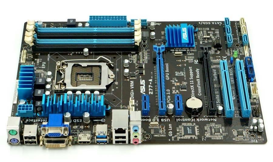 motherboard ASUS Z77-A LGA1155 DDR3 32GB Intel Z77 Desktop Motherboard