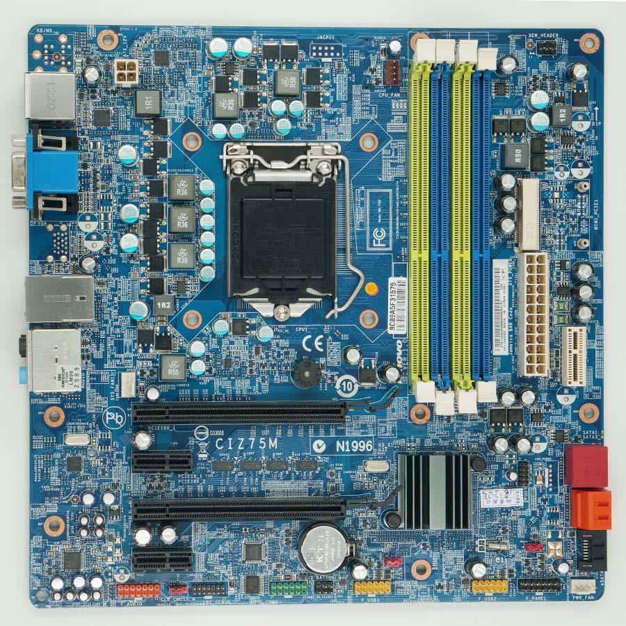 Lenovo IdeaCentre K430 Erazer T430 CIZ75M motherboard LGA1155