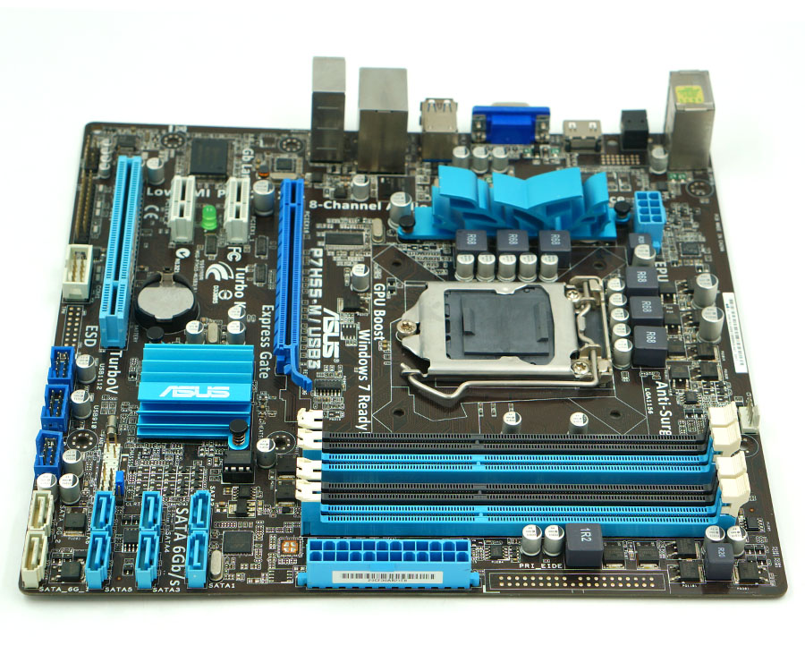 Asus P7H55-M/USB3 Express Gate Drivers for Windows XP