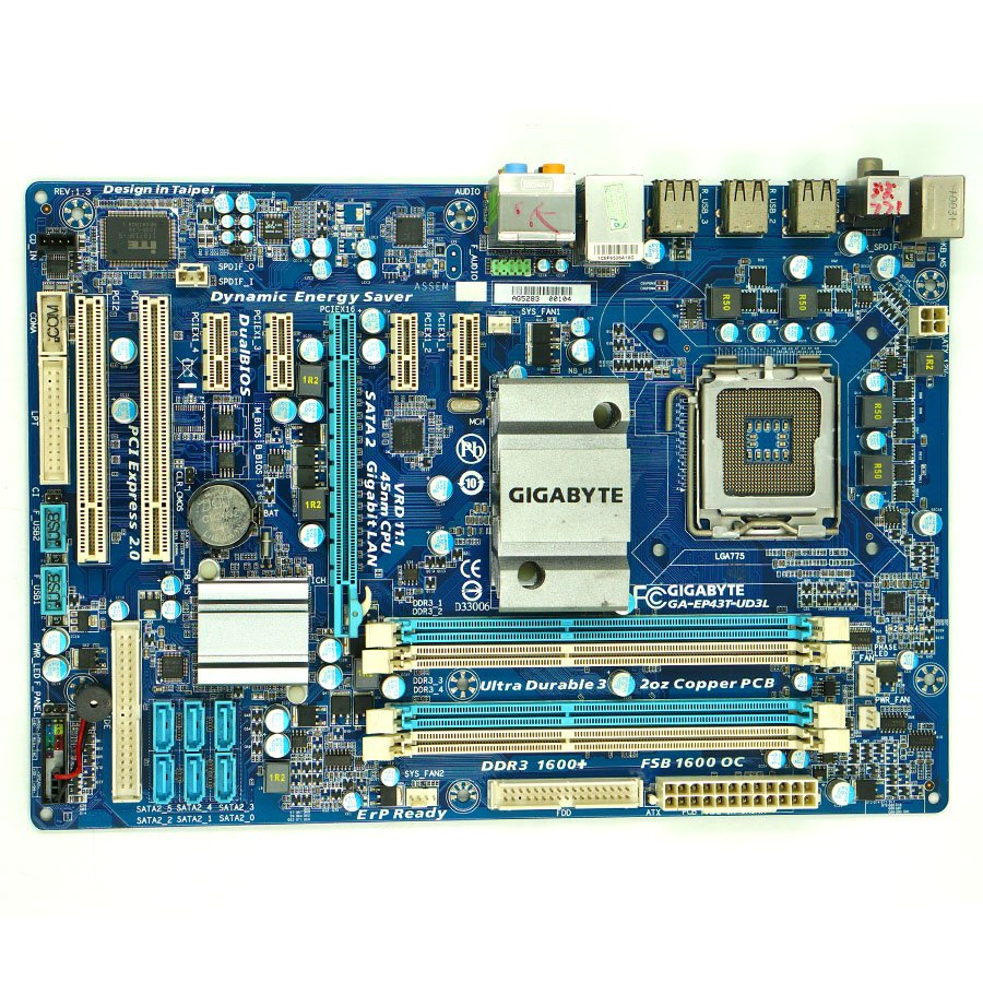 Gigabyte Desktop Motherboard P35 Add To Cart