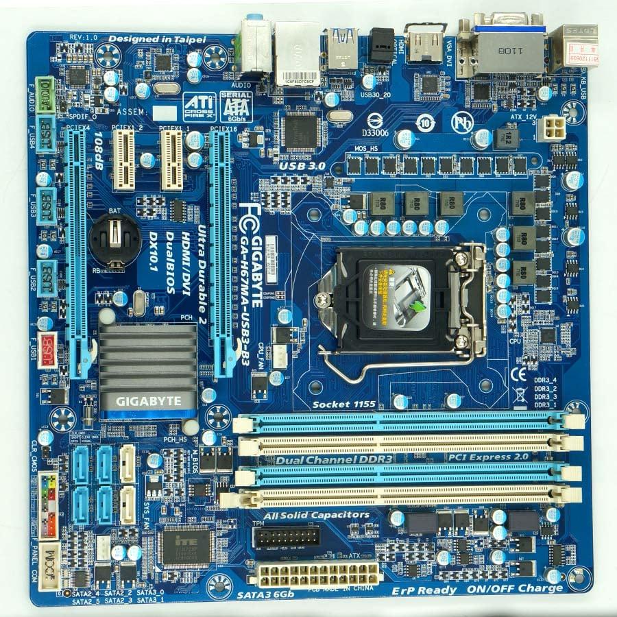 Gigabyte GA-H67MA-USB3-B3 H67MA-USB3-B3 motherboard