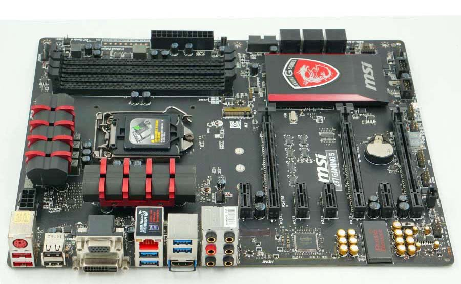 MSI Z97 GAMING 5 Used Desktop Motherboard Z97 LGA 1150 DDR3 SATA3 USB3.0 32G ATX On Sale