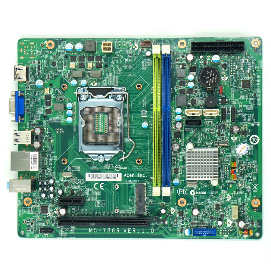 ACER TC-605 TC-705 SX2885 Desktop Motherboard MS-7869 DBSRRCN001 LGA1150 Mainboard 100%tested fully work