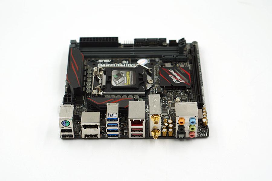 Asus Z170I PRO GAMING Z170 LGA 1151 Mini-ITX motherboard