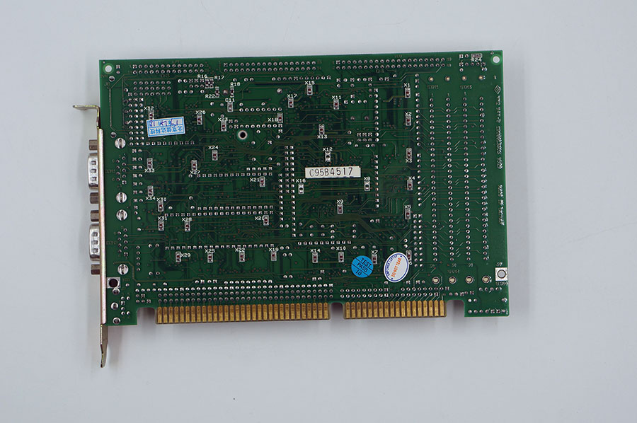 Advantech PCA-6133 386SX INDUSTRIAL CPU CARD REV.A4 Motherboard without RAM