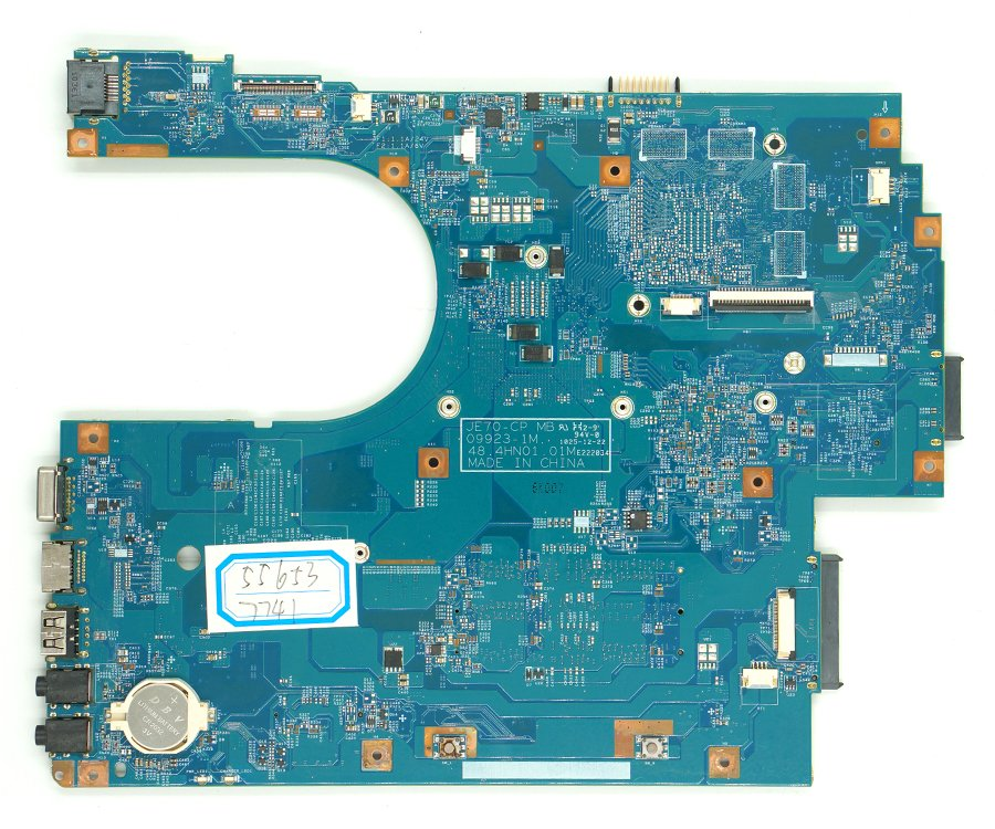 REFIT 7741 7741G Non-Integrated Motherboard for Laptop 7741 7741G 48.4HN01.011 JE70-CP MB
