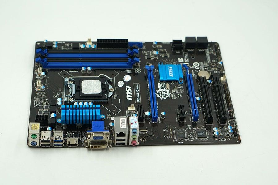 motherboard MSI B85-G41 PC Mate LGA 1150 DDR3 Solid Capacitor
