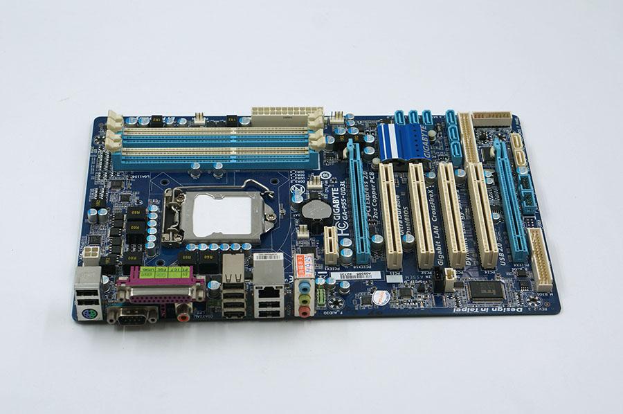 moderkort Gigabyte GA-P55-UD3L P55 Desktop motherborad P55-UD3L LGA 1156 DDR3 16G I5 I7 CPU