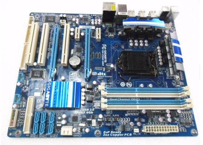 Gigabyte GA-P55-USB3L Used Desktop Motherboard P55-USB3L P55 LGA 1156 i3 i5 i7 DDR3 16G USB3.0 ATX