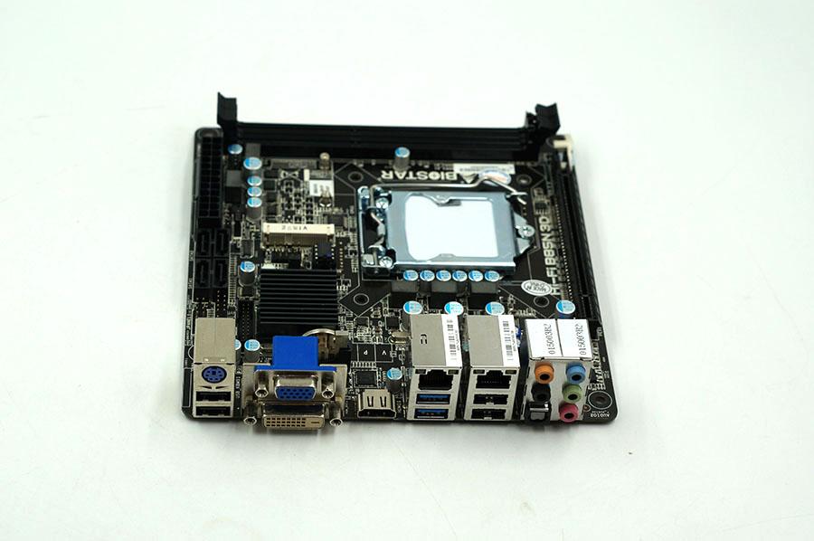 BIOSTAR Hi-Fi B85N 3D Used Desktop Motherboard B85 LGA 1150 DDR3 32G SATA3 USB3.0 Mini-ITX