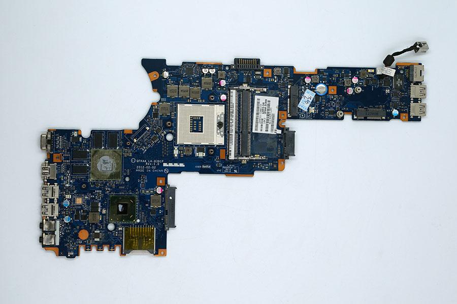 Toshiba eller Satellite P855 K000135810 QFKAA LA-8391P moderkort