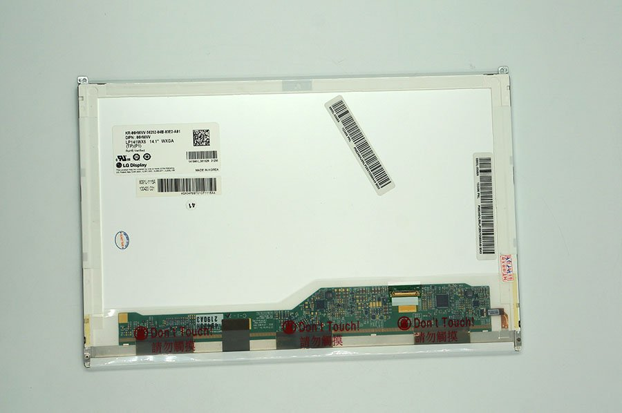 14.1'' LCD for DELL E6410 replacement display LP141WX5 TPP1 LTN141AT16 B141EW05 V.5 N141I6-D11 30pin