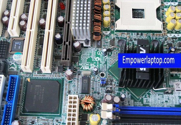 Asus NCCH-DL 875P 604 800 FSB Workstation motherboard