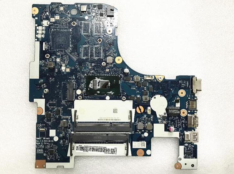 För Lenovo IdeaPad 300-17ISK Laptop moderkort 5B20K61885 i5-6200U CPU NM-A491