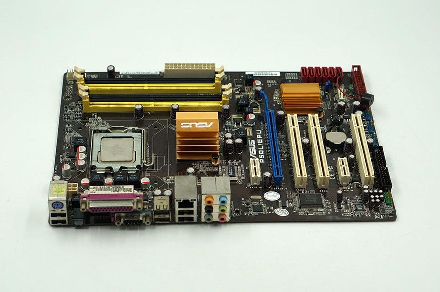 Asus P5QL/EPU Desktop Motherboard P43 Socket LGA 775 DDR2 16G SATA2 USB2.0 ATX On Sale Second-hand High Quality