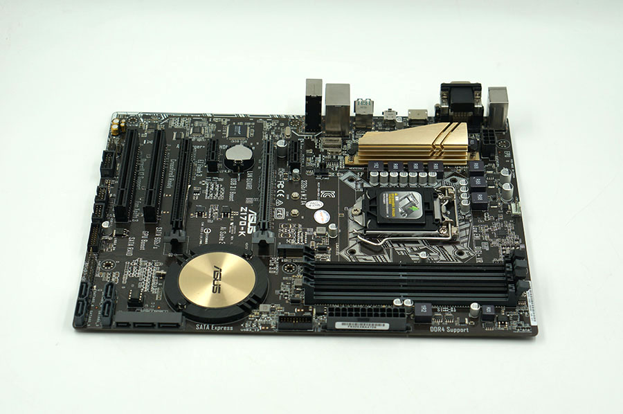 Asus Z170-K Desktop Motherboard Z170 Socket LGA 1151 i7 i5 i3 DDR4 32G SATA3 USB3.0 ATX Second-hand High Quality