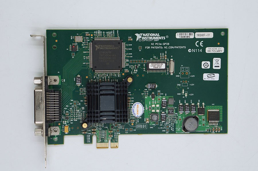 PCIe-GPIB card acquisition card