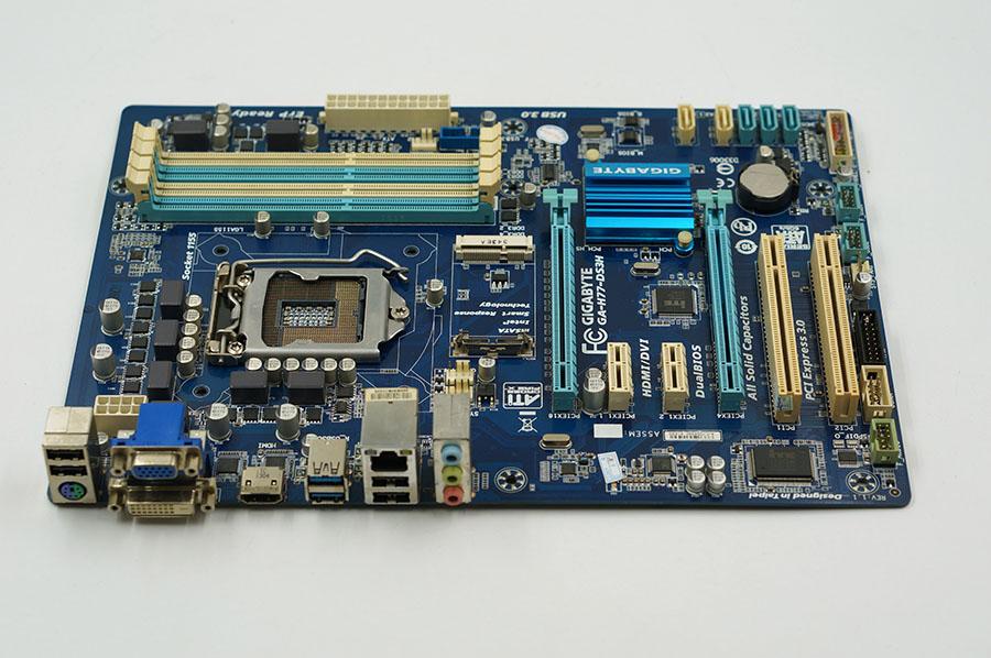 moderkort Gigabyte GA-H77-DS3H DDR3 LGA 1155 USB2.0 USB3.0 H77-DS3H 32GB H77 Desktop moderkort