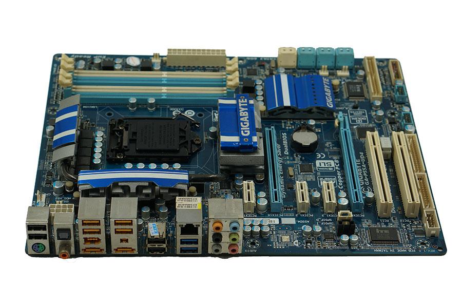 motherboard Gigabyte GA-P55A-UD4 boards P55A-UD4 1156 DDR3 16G i5 i7 cpu P55 Desktop motherborad