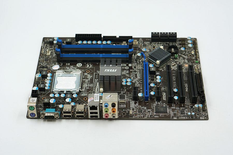 motherboard MSI P43-C51 DDR3 LGA 775 Solid Capacitor P43 Desktop motherboard