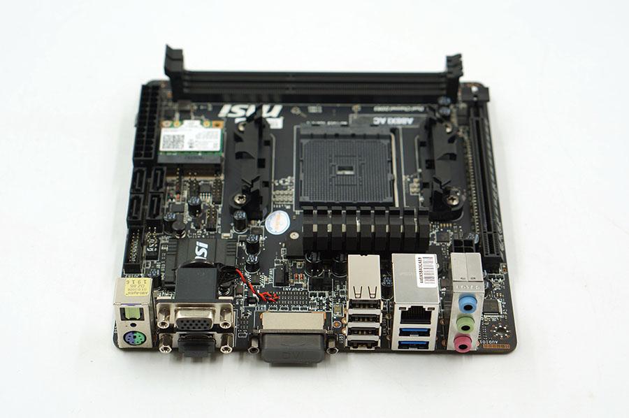 MSI A88XI AC Used Desktop Motherboard A88X Socket FM2+ DDR3 SATA3 USB3.0 Mini-ITX