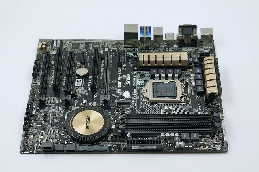 Asus Z97-A / USB3.1 Μεταχειρισμένα Desktop Motherboard Z97-Α USB3.1 Z97 Socket LGA 1150 i7 i5 i3 DDR3 32G SATA3 USB3.0 ATX
