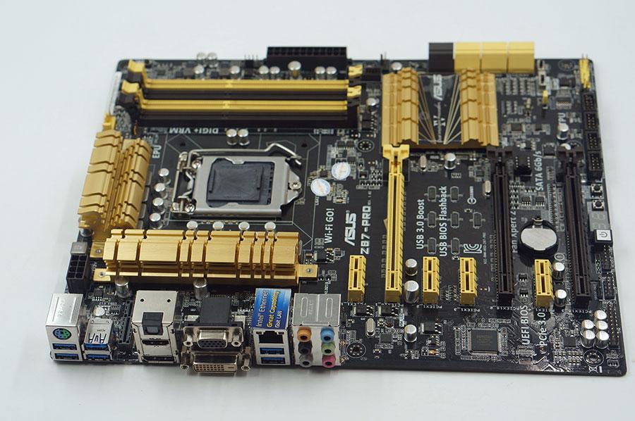 Asus Z87-PRO Used Desktop Motherboard Z87 Socket LGA 1150 i7 i5 i3 DDR3 32G SATA3 USB3.0 ATX