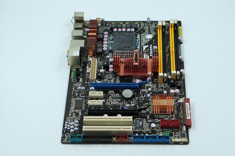 Asus P5K EPU Desktop Motherboard P35 Socket LGA 775 DDR2 8G SATA2 USB2.0 ATX Second-hand High Quality