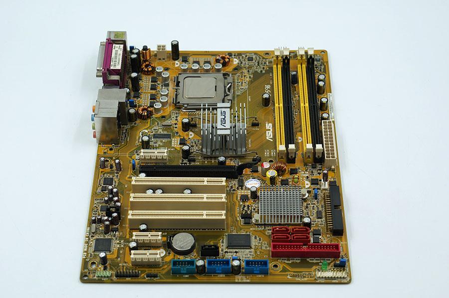Asus P5B Desktop Motherboard P965 Socket LGA 775 DDR2 8G SATA2 USB2.0 ATX Second-hand High Quality