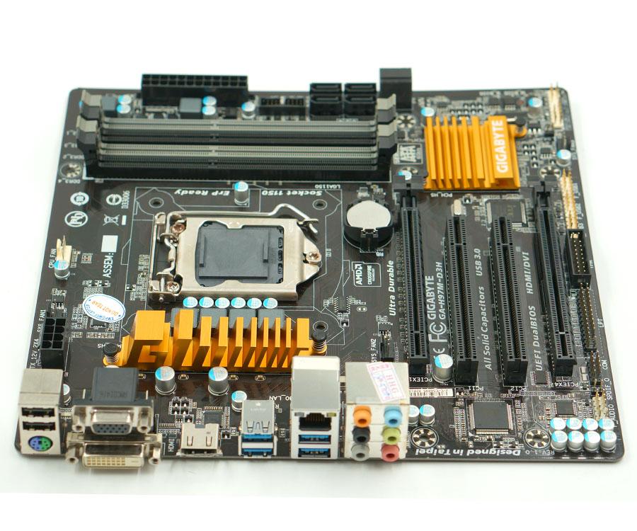 Original  GIGABYTE GA-H97M-D3H Intel H97 Motherboard LGA 1150 DDR3