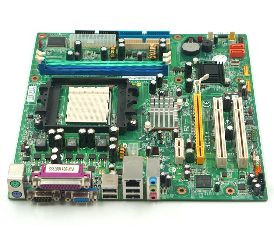 L-NC51M MS-7283 desktop motherboard fit for lenovo A60 C51 system PC Board DDR2 Socket AM2