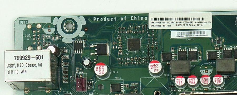 HP IPM17-DD v1.04 799929-001 799929-601 alaplap