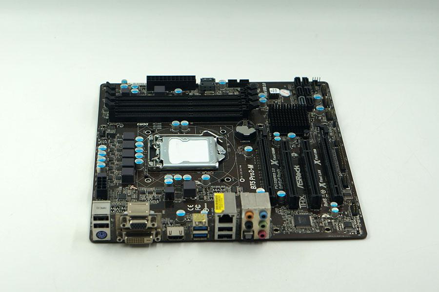 Asrock B75 Pro3-M motherboard B75 LGA1155 Micro-ATX