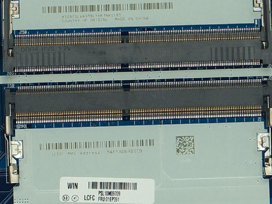 Lenovo Thinkpad E570 I5-7200U motherboard 01EP391 CE570 NM-A831 SR2ZU