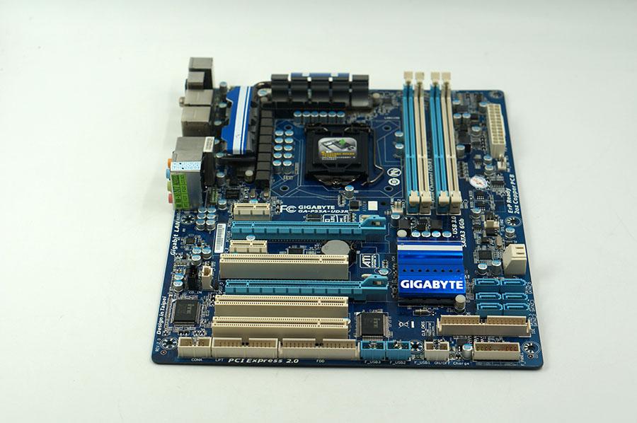 Gigabyte GA-P55A-UD3R LGA 1156 P55A-UD3R P55 motherboard