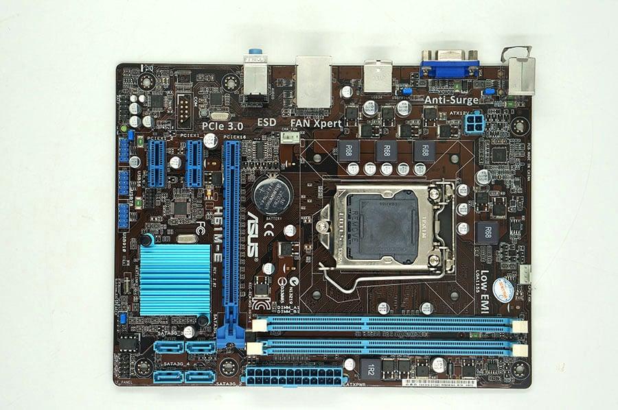 Asus H61M-E LGA 1155 SATA II motherboard