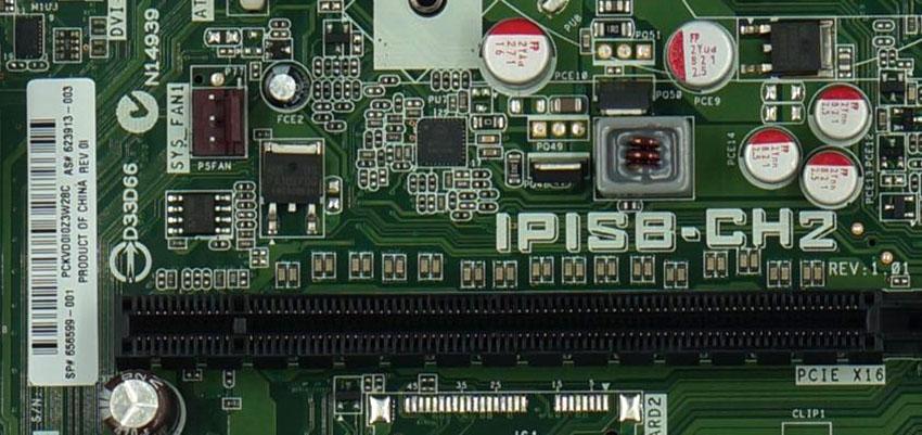 HP H8 H8-1020es Elite 7300 MT IPISB-CH2 Desktop Motherboard LGA1155