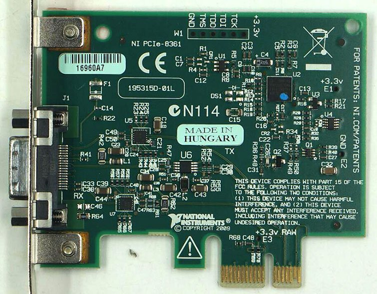 NI PCIE-8361 control acquisition card