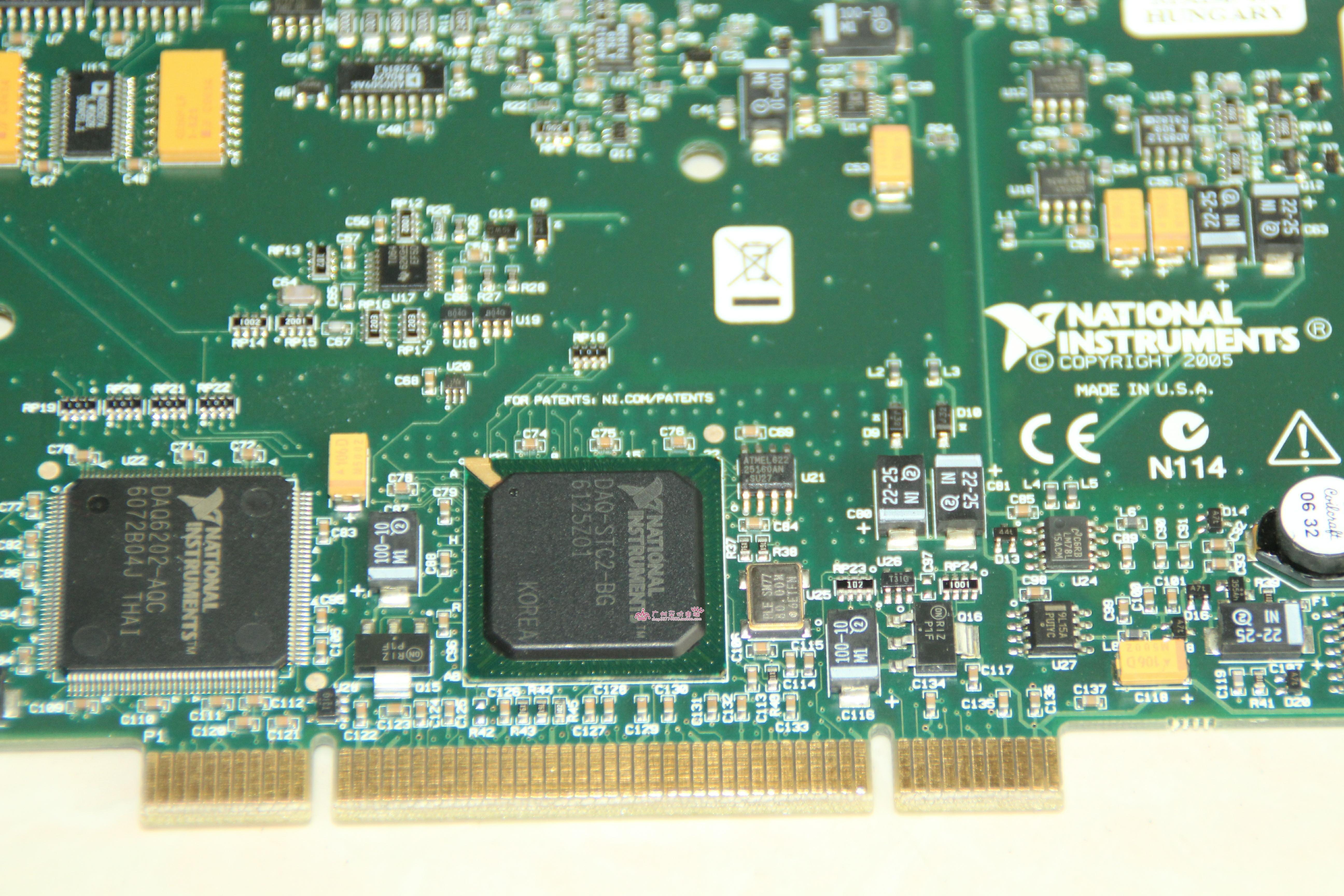 NI PCI-6221 37pin Multi-function Data Acquisition Card