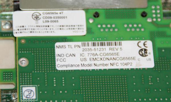 NMS CG6565 4TE 776a-CG6565 Voice Card