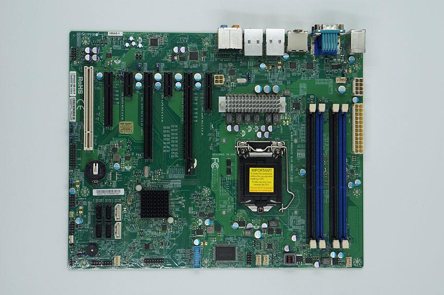 Super X9SAE-V Server moderkort LGA1155 C216 chipset stöd E3 V2