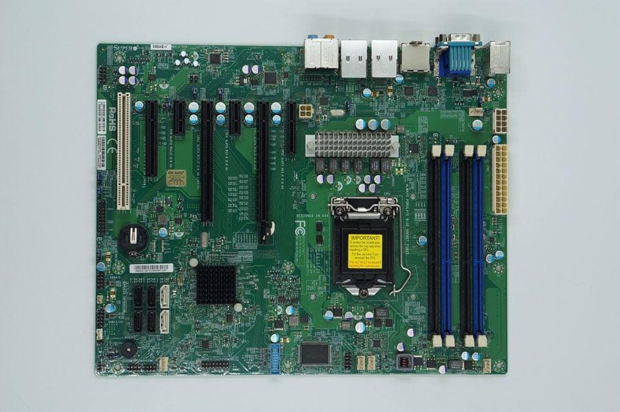 SuperMicro X9SAE-V Server motherboard LGA1155 C216 chipset support E3 V2