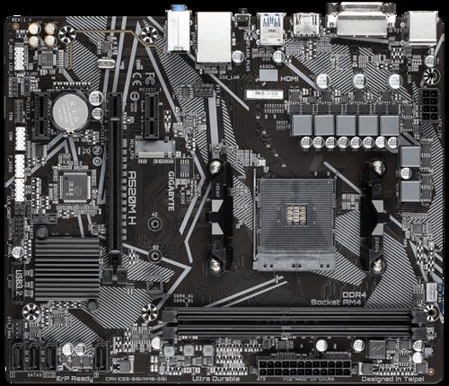 Gigabyte A520M H Motherboard M-ATX A520 DDR4 64G