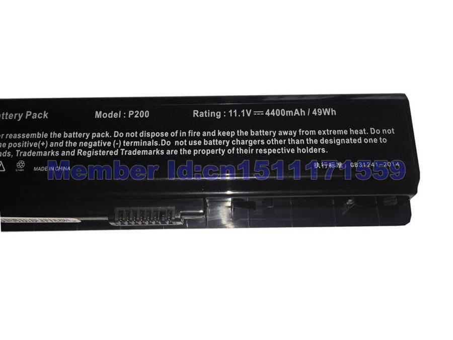 NOUVEAU Batterie AA-PBAN6AB AA-PLAN6AB AA-PLAN9AB Samsung 200B 400B 600B NP200B NP400B NP600B P200 11.1V 4400MAH